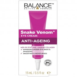 BALANCE ACTIVE FORMULA Snake Venom Eye Cream 15ml
