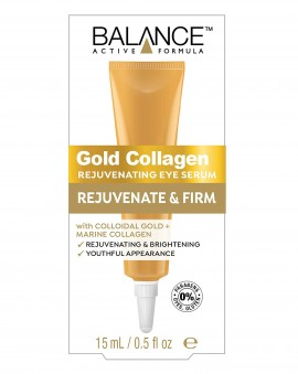 BALANCE ACTIVE FORMULA Gold Collagen Rejuvenating Eye Serum 15ml