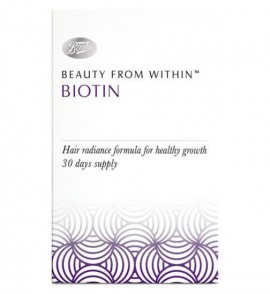 Boots Beauty From Within Biotin – 900ug 30s