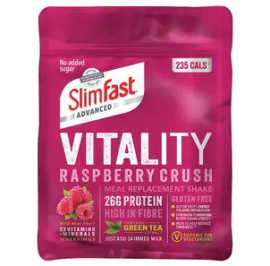 Slimfast Vital Raspberry Crush Powder 400g