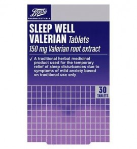Boots Pharmaceuticals Sleep Well Traditional Herbal Remedy 150mg – 30 Tablets