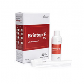 Brintop F 5% Topical Solution 100ml