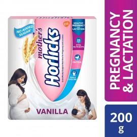 Mother's Horlicks – Health & Nutrition Drink 200gm Refill Pack