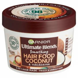 Garnier Ultimate Blends Hair Food Coconut Hair Mask 390ml