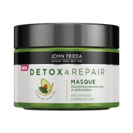 John Frieda Detox & Repair Hair Masque for Dry, Stressed & Damaged Hair 250ml
