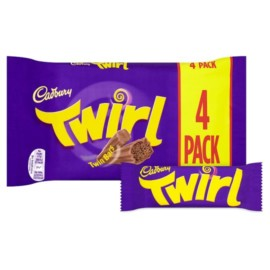 Cadbury Twirl 4 Pack 136G