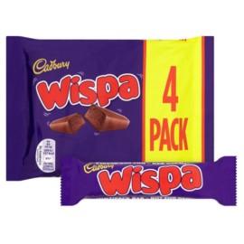Cadbury Wispa 4 Pack 120G