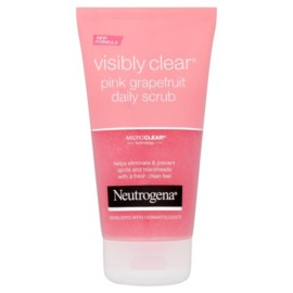 Neutrogena Visibly Clear Pink Grapefruit Face Scrub 150Ml