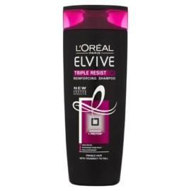 L'Oreal Paris Elvive Triple Resist Shampoo 400ml