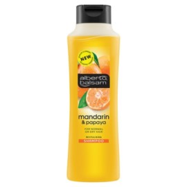 Alberto Balsam Manderine And Papaya Shampoo 350Ml