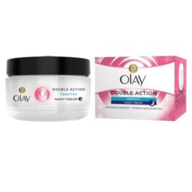 Olay Double Action Moisturiser Night Cream Sensitive 50Ml