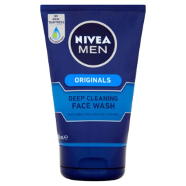 Nivea For Men Deep Cleansing Facewash 100ml