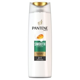 Pantene Smooth And Sleek 2 in 1 Shampoo & conditioner 400Ml