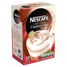 Nescafe Cafe Skinny Unsweetened Cappucino 145G