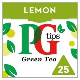 PG Tips Green Tea Lemon 25S 35G