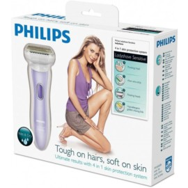 Philips HP6368/02 Double Contour Wet & Dry Sensitive 4-in-1 Ladyshave