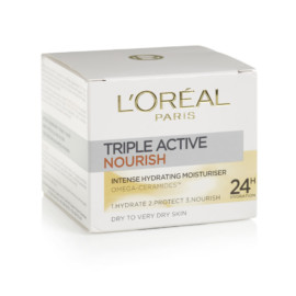 L'Oreal Paris TripleActive Nourish Hydrating Moisturiser 50ml