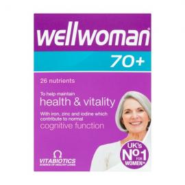 Vitabiotics Wellwoman 70+ Tablets 30