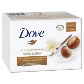 Dove Purely Pampering Shea Butter Beauty Bar 4 x 100g