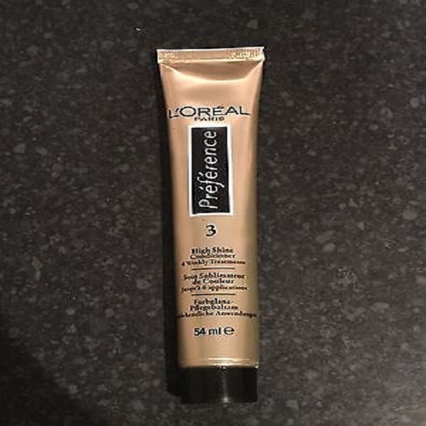 L'Oreal Preference 3 High Shine Conditioner 54ml - UK DIRECT BDUK