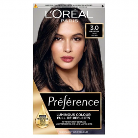 L'Oreal Paris Preference Hair Dye 3 Brasilia Dark Brown