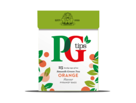 Pg Tips Green Orange 25S Pyramid Bags 35G