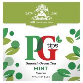 PG Tips Green Mint Tea 25 per pack