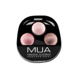 MUA Trio Eyeshadow – Pink Sorbe