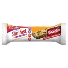 SlimFast Nutty Salted Caramel Meal Replacement Bar Single
