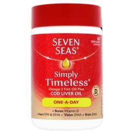 Seven Seas Cod Liver Oil One a Day 60 Capsules
