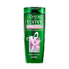 Elvive Phytoclear Anti-Dandruff Soothing Shampoo 400ml