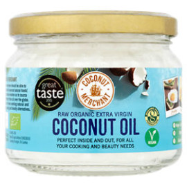 Coconut Merchant Raw Organic Extra Virgin Coconut Oil 280ml