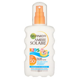 Garnier Ambre Solaire Kids Sun Cream Spray SPF50+ 200ml