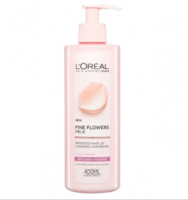 L'Oreal Paris Fine Flowers Cleansing Milk Dry Skin 400ml