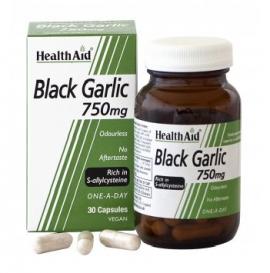 HealthAid Black Garlic – 30 x 750mg Vegicaps