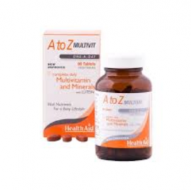HealthAid A to Z Multivit – Multivitamins and Minerals – 90 Tablets