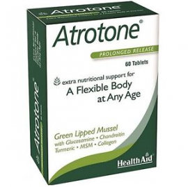 HealthAid Atrotone – Green Lipped Mussel – 60 Tablets