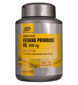 Boots Evening Primrose Oil 1000 mg – 180 Capsules