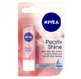 NIVEA Lip Balm, Pearly Shine, 4.8g