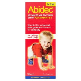 Abidec Advanced Multi Vitamins Syrup Plus Omega 150Ml