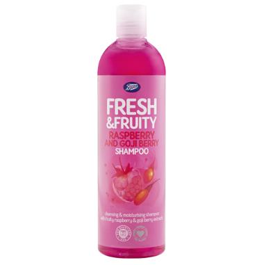 Boots Fresh Fruity Raspberry Goji Berry Shampoo Uk Direct Bd