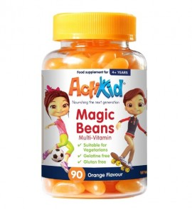ActiKid® Magic Beans Multi-Vitamin Orange Flavour 90