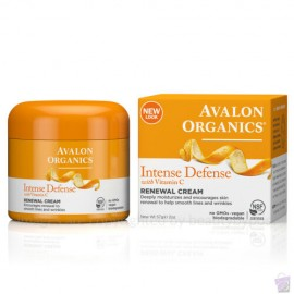 Avalon Organics Intense Defense Renewel Cream with Vitamin C 57g