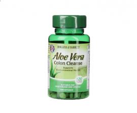 Holland & Barrett Aloe Vera Colon Cleanse 120 Tablets 330mg