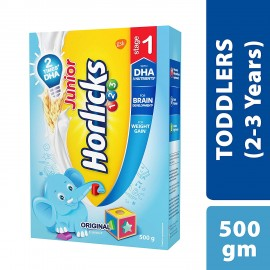 Junior Horlicks Stage 1 (2-3 years) Health & Nutrition Drink 500g