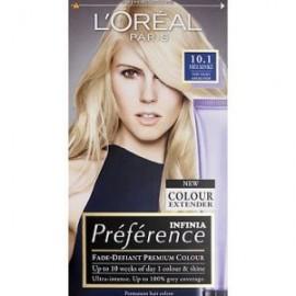 L'Oreal Preference 10.1 Helsinki Very Light Ash Blonde Hair Dye