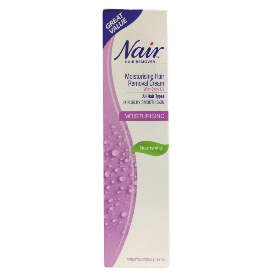 Nair Hair Remover Moisturising With Baby Oil 80ml Uk Direct Bd