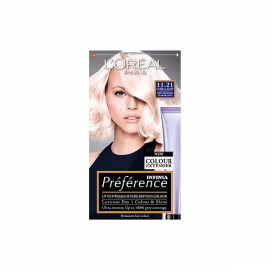 L'Oreal Preference Infinia 11.21 Ultra Light Pearl Blonde Hair Dye