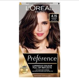 L'Oreal Preference Infinia 4.15 Caracas Iced Chocolate Hair Dye