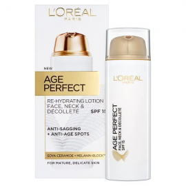 L'Oreal Paris Age Perfect Face, Neck & Decollete Lotion 50ml